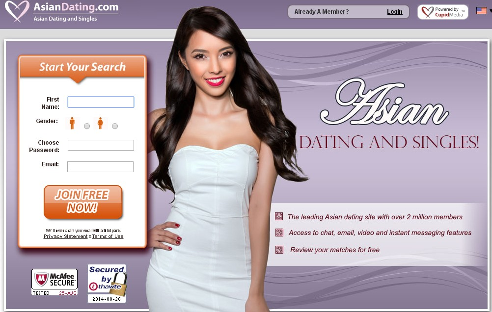 Free asian dating websites