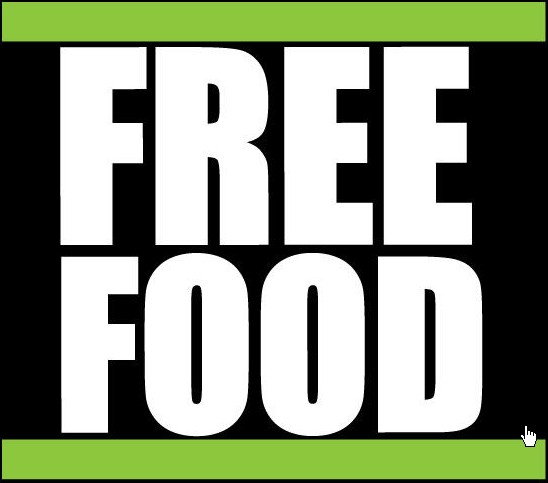 Do you like free food? When you eat it do you ever wonder why it was free?