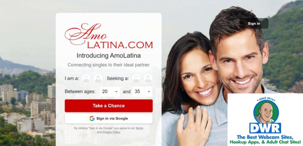 AmoLatina.com home