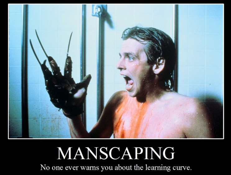 Manscaping for online dating success!