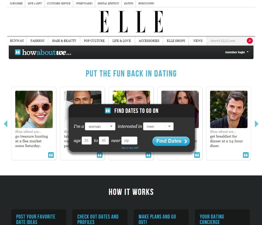 Online dating websites 2013