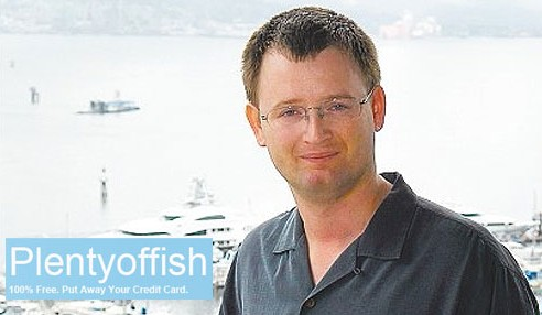 Markus Frind CEO of plentyoffish.com