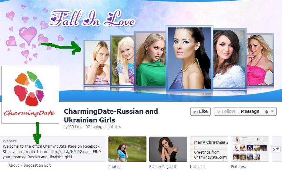 charmingdate.com facebook page