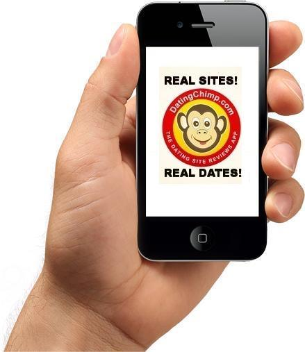 DatingChimp app - The dating site reviews app.