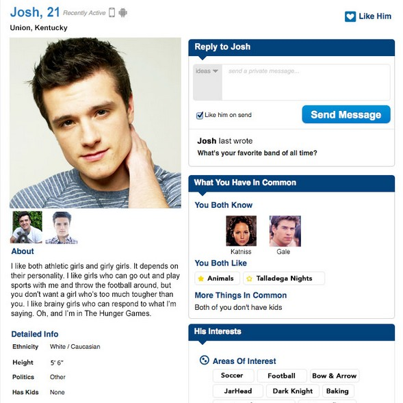 help with profile for online dating