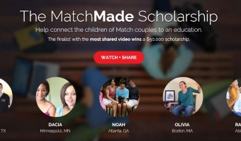 Match.com uses Social Media to Share Scholarship Contest