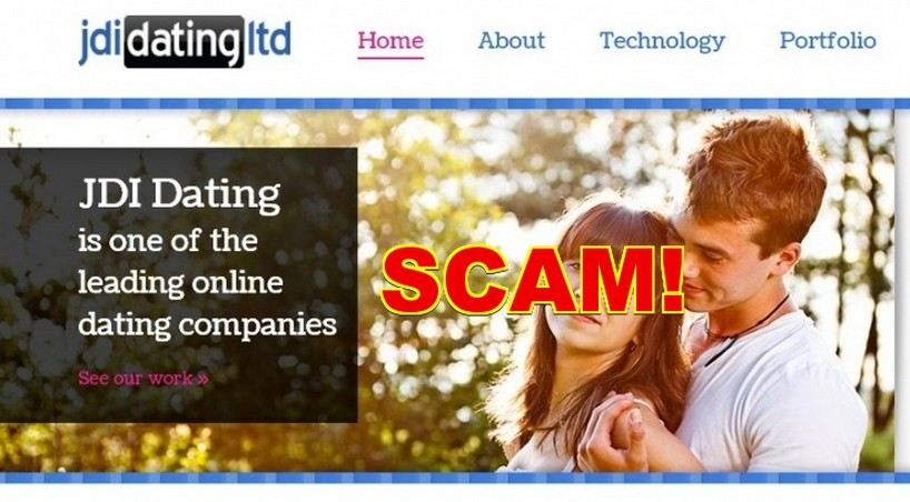 Caught red handed defrauding customers in online dating.