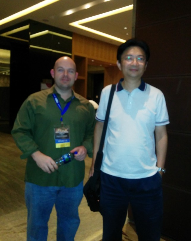 Online Dating Critic, Jason Lee with Dr. Song Li, Founder of Zhenai.com