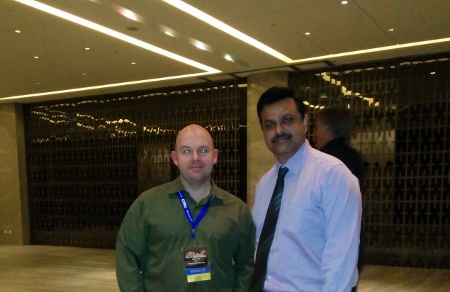 Online Dating Critic, Jason Lee with Sanjeev Misra, Vice President Assisted Matrimony Matrimony.com