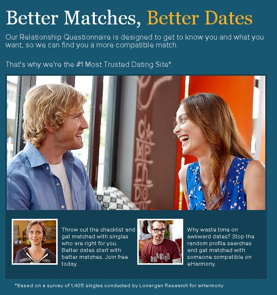 Totally free eHarmony Australia offer