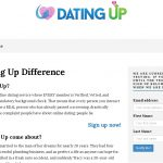 Innovation Challenge Entrant DWR: DatingUp.net New Dating Site