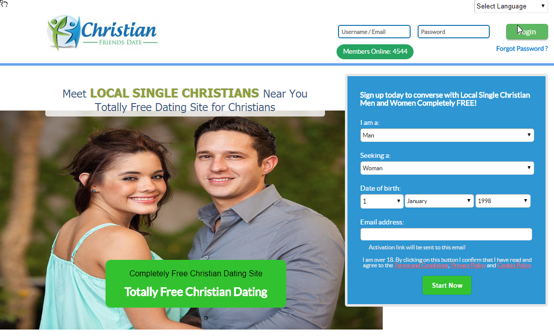 Progressive christian dating site