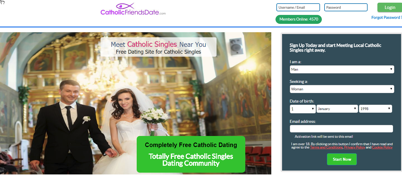 100 Free Christian/Catholic Singles