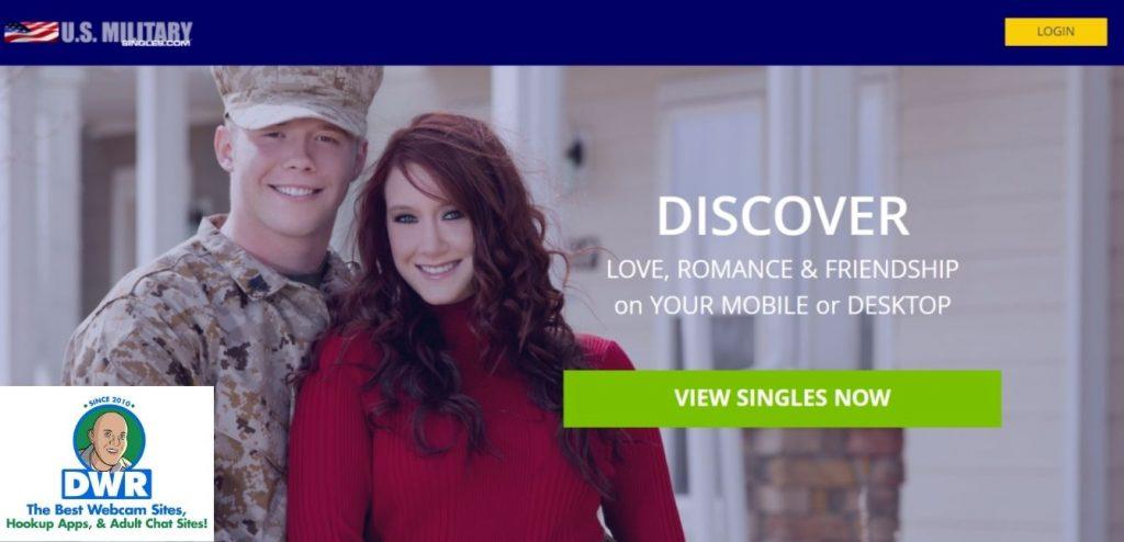 USMilitarySingles.com home