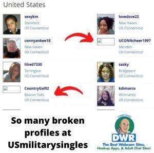 USmilitary singles profile