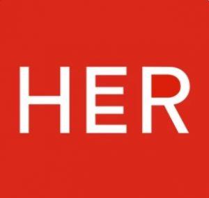 Queer dating app logo