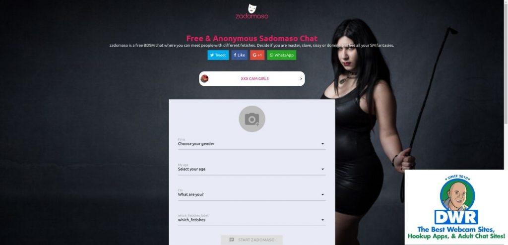 Zadomaso.com homepage